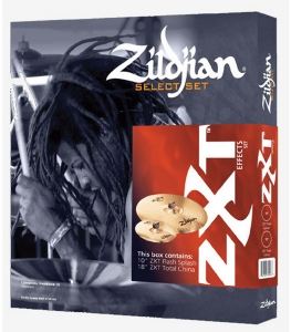 ZXTS2P ZXT EFFECTS CYMBAL SET UP 2 PACK