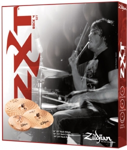ZXT Rock CYMBAL SET UP 4 PACK , ZXTR4P