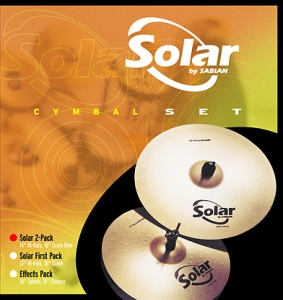 SOLAR Performance set (14 Hats, 16 Crash, 20 Ride), 05003
