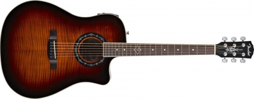 T-BUCKET 300CE 3-COLOR SUNBURST FLAME MAPLE