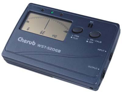 Тип: цифровой тюнер для гитары и баса Диапазон настройки: E1(41.2Hz)-a3(1760Hz) Разъемы: выход, вход Настройка A4...